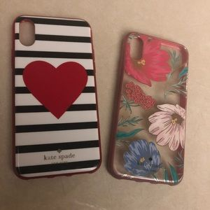 Kate Spade iPhone X cases